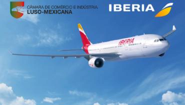 Assinado Protocolo com a Iberia com vantagens exclusivas para membros da Câmara.