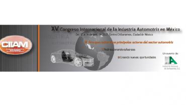 Congreso Internacional de la Industria Automotriz en México, 12 a 14 de junho