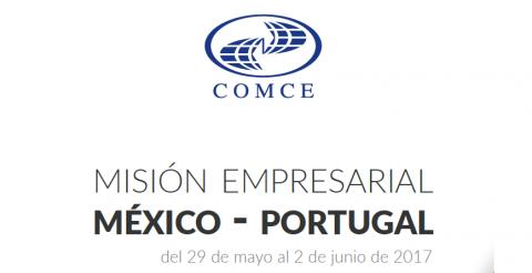 Misión Empresarial México – Portugal, 29/05 a 02/06
