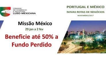 Missão Empresarial ao México, 29/01 a 02/02