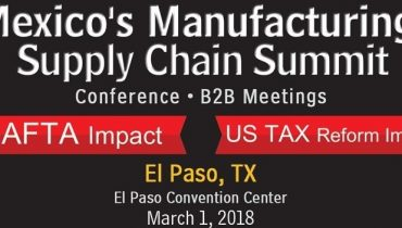 Mexico's Manufacturing Supply Chain Summit 2018