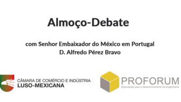 Almoço-Debate com D. Alfredo Pérez Bravo