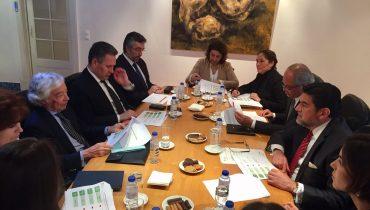 Reunião de trabalho com o Senhor Embaixador do México, Alfredo Pérez Bravo