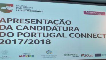 Sessão de apresentação da candidatura do Portugal Connect 2017/2018