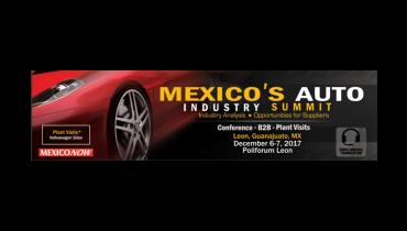 Mexico's Auto Industry Summit, 6 e 7 de dezembro